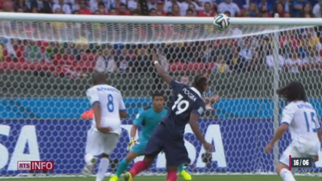 Coupe du monde: La France a battu facilement le Honduras (3-0) [RTS]