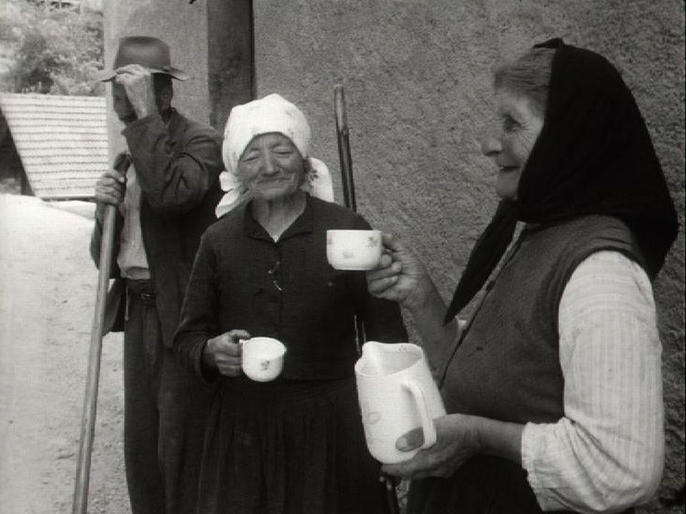 La vie quotidienne à Isérables en 1960. [RTS]