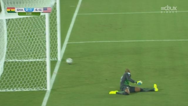 Groupe G, GHA-USA (0-1): ouverture du score pour les USA moins d'une minute après le début du match [RTS]