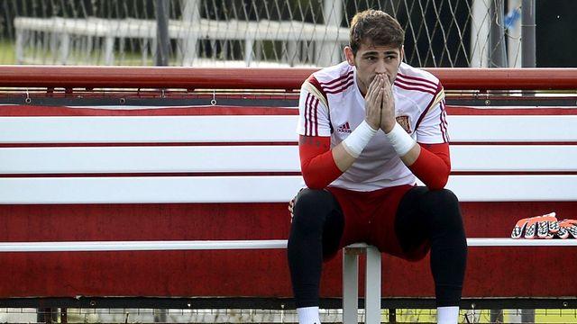 L'Espagne de Casillas saura-t-elle se relever après la déroute face aux Pays-Bas? [CJ Gunther - Keystone]