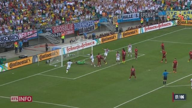 Football - Coupe du Monde: l'Allemagne corrige le Portugal [RTS]