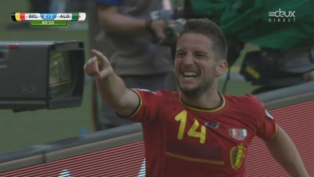 Groupe H, BEL-ALG (2-1): la Belgique reprend l'avantage et marque un deuxième goal [RTS]