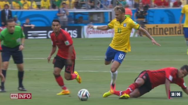 Coupe du monde: le Brésil piétine face au Mexique du brillant gardien Ochoa (0-0) [RTS]