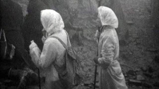 Des milliers de pèlerins irlandais sous la houlette de Saint Patrick.