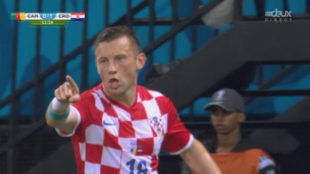 Groupe A, CAM-CRO (0-1): la Croatie ouvre le score sur une frappe de Olic [RTS]