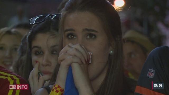 Coupe du Monde: l'élimination de l'Espagne crée la première surprise de ce Mondial [RTS]