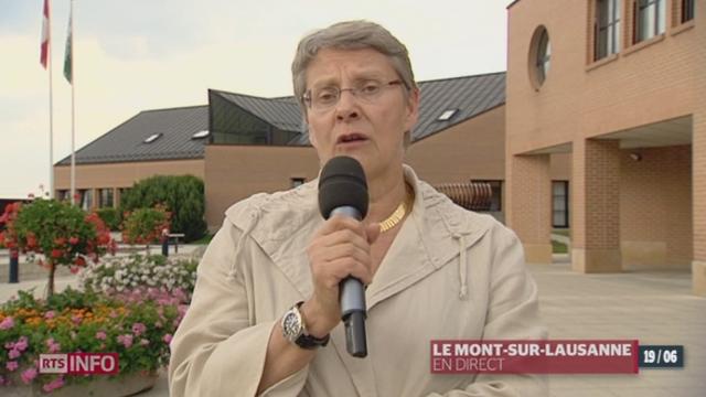 Construction de la nouvelle prison à Orbe: les précisions de Béatrice Métraux, cheffe du département de la sécurité, VD, à Lausanne [RTS]
