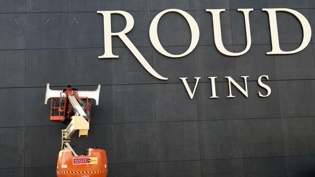 L'enseigne Giroud Vins a été démontée début juin pour faire place à une nouvelle raison sociale. [Salvatore Di Nolfi - Keystone]
