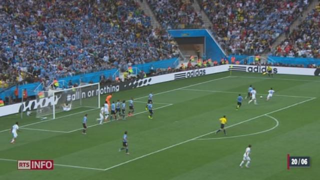 Coupe du Monde: l'Uruguay bat l'Angleterre 2-1 [RTS]