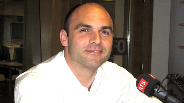 Laurent Favre, conseiller national (PLR/NE) et directeur de la Chambre neuchâteloise d'agriculture et de viticulture. [Caroline Dumoulin - RTS]