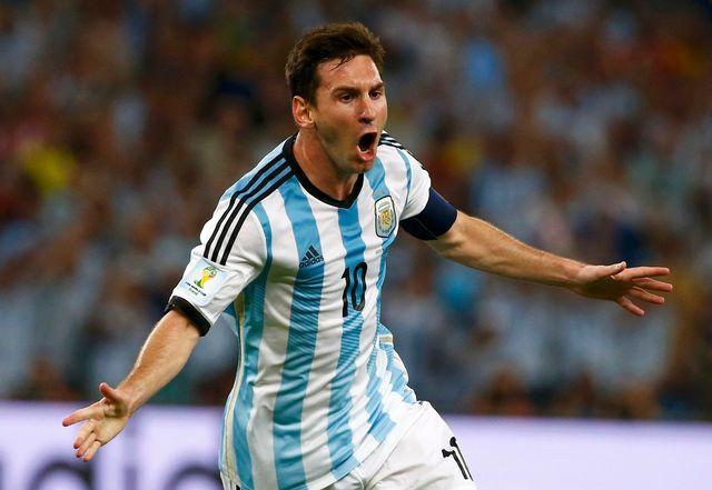 Contre les Bosniens, Messi a passé en revue toute la défense pour un but exceptionnel. [Michael Dalder - Reuters]
