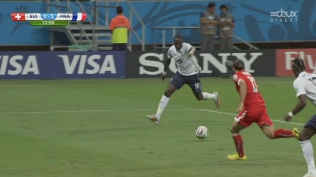 Groupe E, SUI-FRA (0-5): Sissoko très bien placé met la balle au fond du filet [RTS]