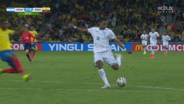 Groupe E, HON-ECU (1-0): ouverture du score pour le Honduras sur une frappe de Costly [RTS]