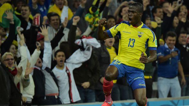 Déjà trois buts pour Enner Valencia dans cette Coupe du monde. [Gabriel Bouys - AFP]