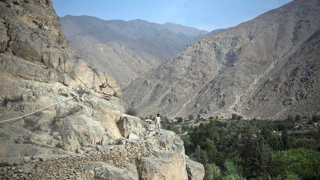 Voie royale millénaire, les Chemins des Incas (Qhapaq Nan) relient aujourd'hui le Pérou, le Chili, la Colombie, l'Équateur, l'Argentine et la Bolivie dans un entrelacement de routes construites sur une période de 2000 ans et culminant parfois à plus de 5000 mètres d'altitude. [Ernesto Benavides - AFP]