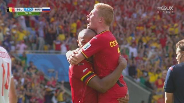 Groupe H, BEL-RUS (1-0): avec ce but de Divock Origi, la Belgique prend une sérieuse option sur la victoire [RTS]