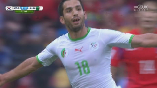 Groupe H, KOR-ALG (0-3): les Fennecs prennent le large avec cette réussite d'Abdelmoumene Djabou [RTS]