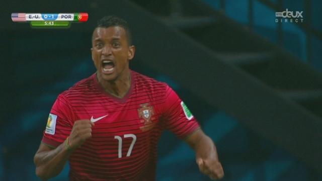 Groupe G, USA-POR (0-1): après moins de 5 minutes de jeu, Nani donne l'avantage au Portugal [RTS]