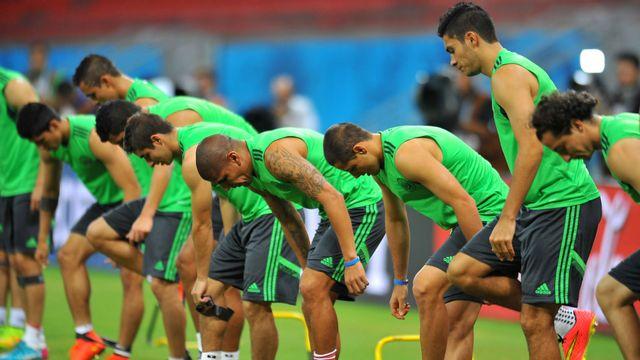Les Brésiliens à l'entraînement dimanche dans l'Etat du Pernambouc. [Aldo Carneiro - Agencia LancePress/AFP]