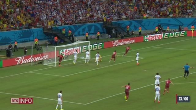 Football - Coupe du Monde: le Portugal est parvenu à égaliser face aux États-Unis à la 95e minute [RTS]