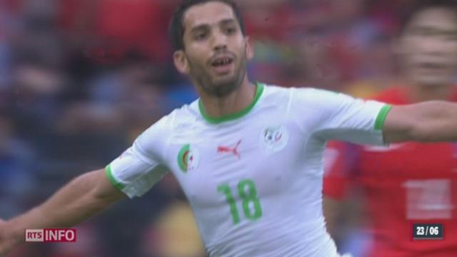 Football - Coupe du Monde: l'Algérie a signé sa première victoire de la compétition contre la Corée du Sud [RTS]