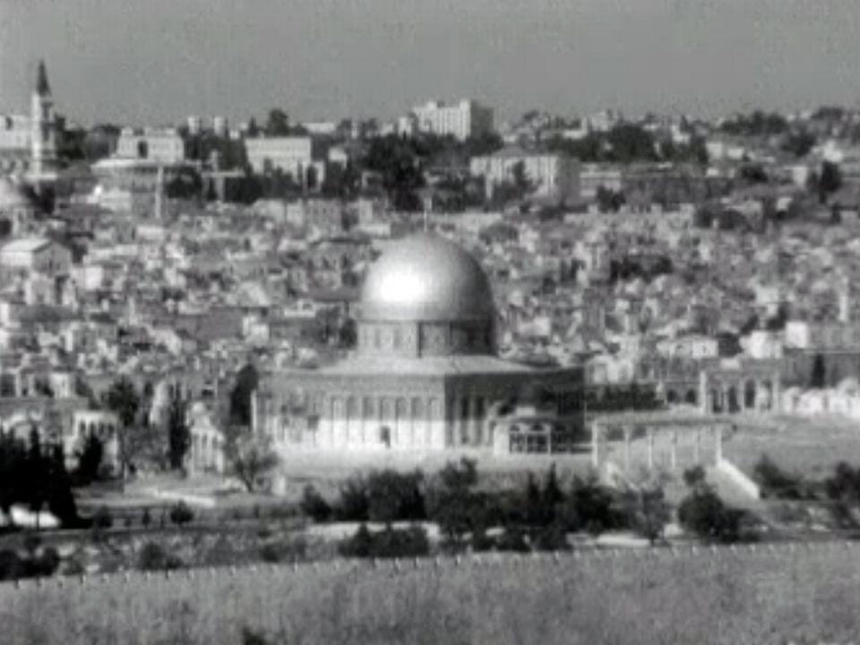 Les nouvelles frontières d'Israël, à la fin de la guerre des 6 Jours. [RTS]