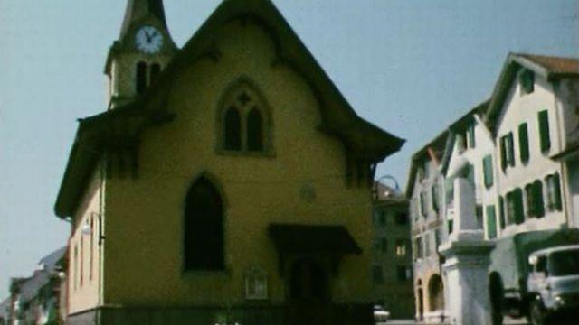Son clocher est le plus haut de tout le canton de Neuchâtel. [RTS]