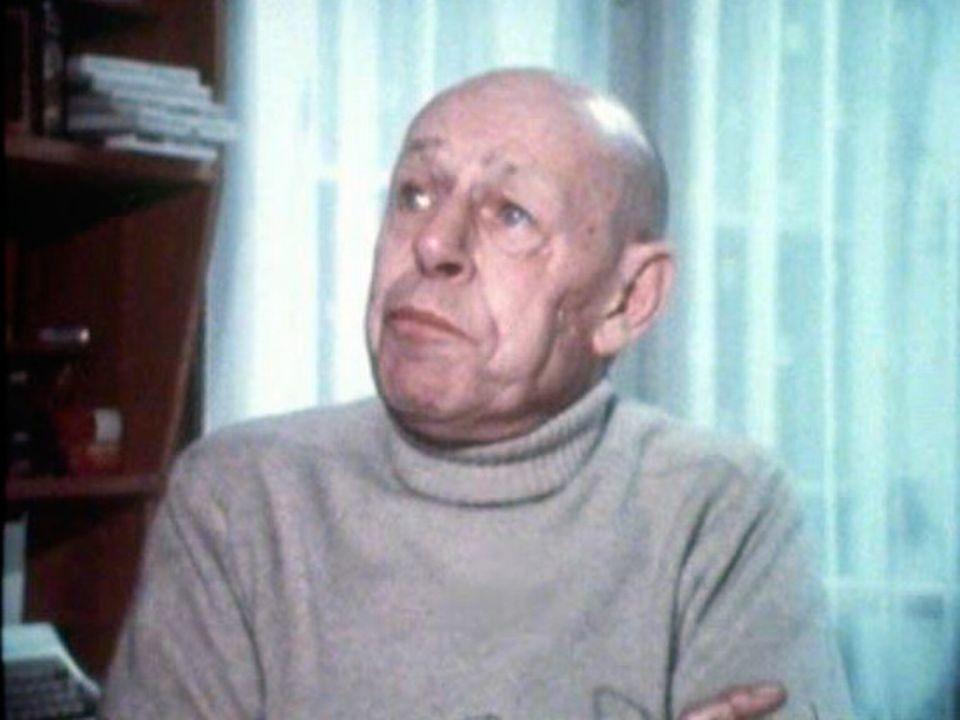 L'artiste Jean Dubuffet interviewé en 1976. [RTS]