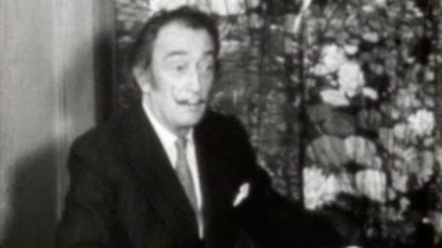 Le peintre Salvador Dali interviewé en 1970. [RTS]