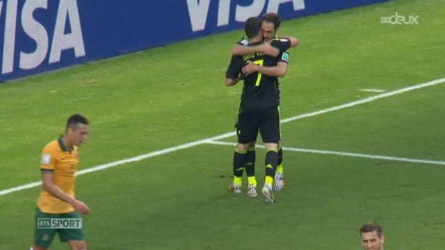 Groupe B, AUS-ESP (0-1): ouverture du score pour les Espagnols par David Villa [RTS]