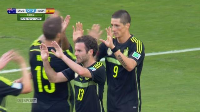 Groupe B, AUS-ESP (0-2): Torres double la mise pour l'Espagne [RTS]