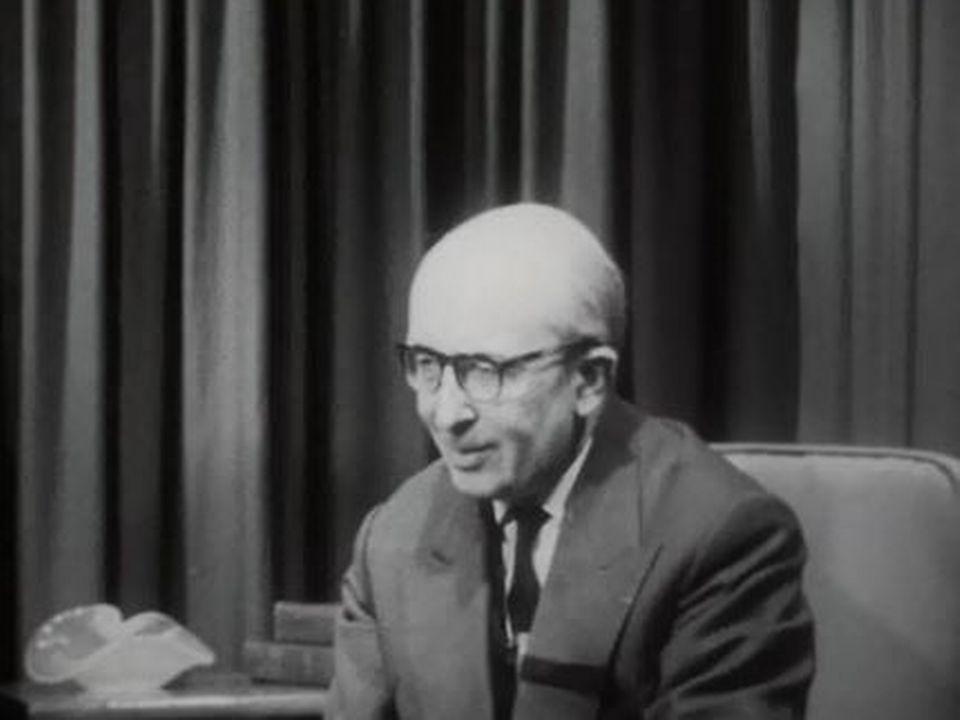 Le philosophe a été parmi les premiers laïcs invités au concile. [RTS]