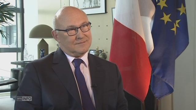 Michel Sapin veut la transparence du coffre-fort suisse [RTS]