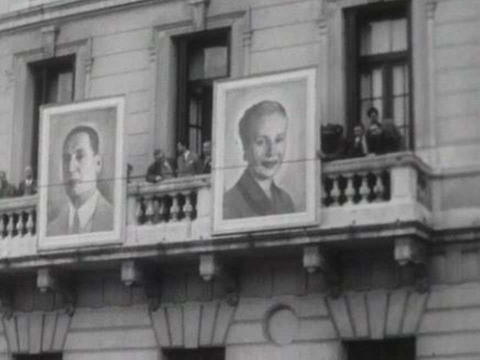 Reportage en Argentine après le régime de Peron. [RTS]
