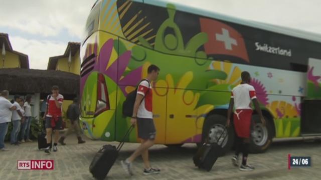 Football - Coupe du Monde: il ne reste plus qu'un jour à la Suisse avant son match décisif [RTS]