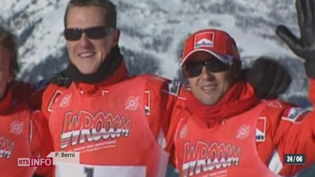 Une partie du dossier médical de Michael Schumacher a été volée [RTS]