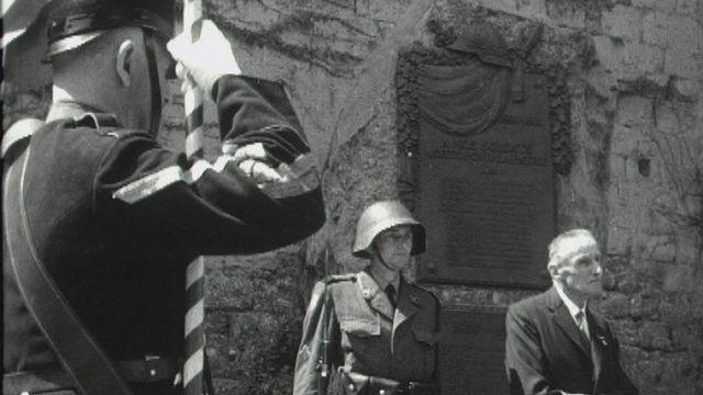 Guerre de 14-18 : la mobilisation en Suisse. [RTS]
