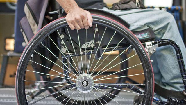 Les associations veulent favoriser au maximum l'insertion des jeunes handicapés. [Gaëtan Bally - Keystone]