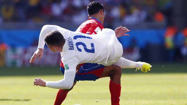 L'Angleterre de Ross Barkley et le Costa Rica de Giancarlo Gonzalez n'ont pas réussi à se départager. Ou pas voulu... [Jon Super - Keystone]