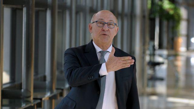 Mardi, Michel Sapin a rencontré des dirigeants de banques suisses pour faire le point sur leurs pratiques en matière fiscale. [ERIC PIERMONT - AFP]