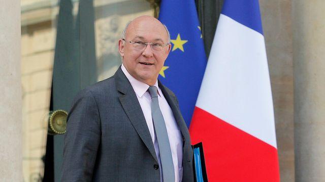 Le ministre français des Finances, Michel Sapin. [Christophe Ena - Keystone]