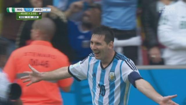 Groupe F, NGR-ARG (1-2): avec un coup franc imparable dans la lucarne, Messi réalise le doublé [RTS]