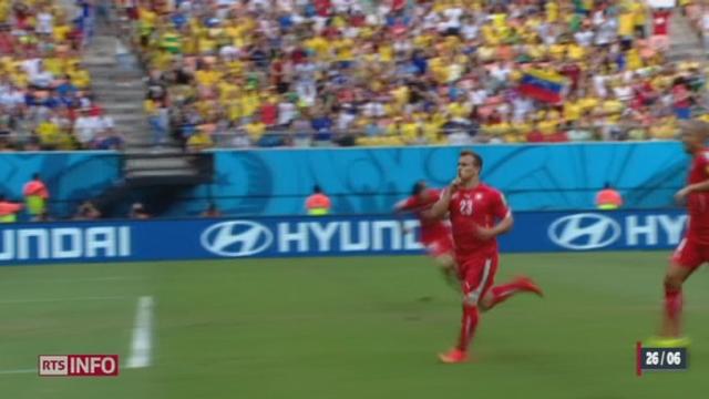 Football - Coupe du Monde: Shaqiri a sauvé l'équipe de Suisse [RTS]