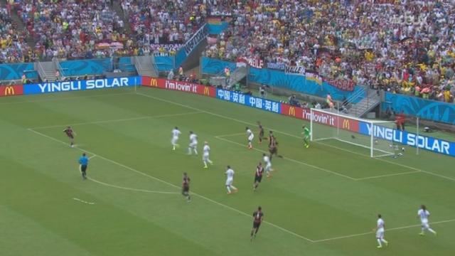 Groupe G, USA-GER (0-1): Müller ouvre le score pour les Allemands [RTS]