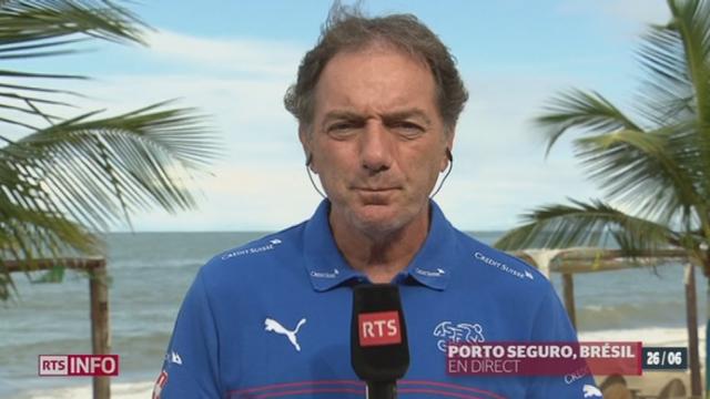 Coupe du Monde - victoire suisse: les précisions de Michel Pont, entraîneur adjoint équipe de Suisse [RTS]