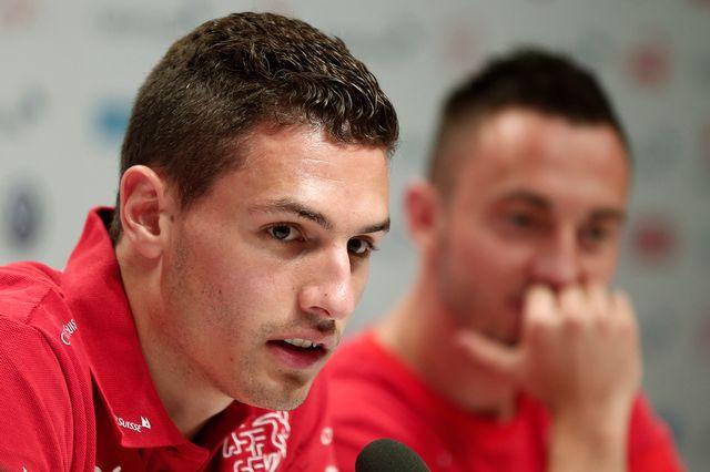 Fabian Schär espère une bonne performance de la Suisse face à l'Argentine. [Peter Klaunzer - Keystone]