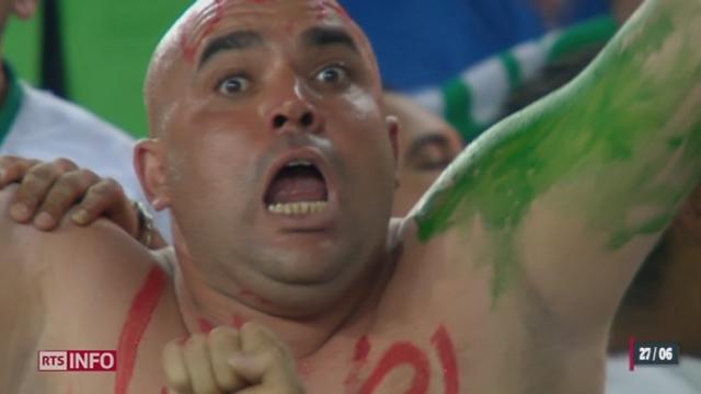 Football - Coupe du Monde: l'Algérie se qualifie pour la première fois pour les 8es de finale [RTS]