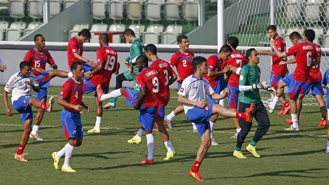 Invaincu dans le tournoi, le Costa Rica peut espérer atteindre les quarts de finale. [Julio Munoz - Keystone]