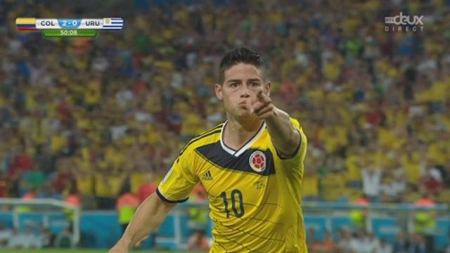 1-8, COL-URU (2-0): Superbe mouvement collectif des Colombiens conclu encore une fois par l'inévitable James Rodriguez [RTS]
