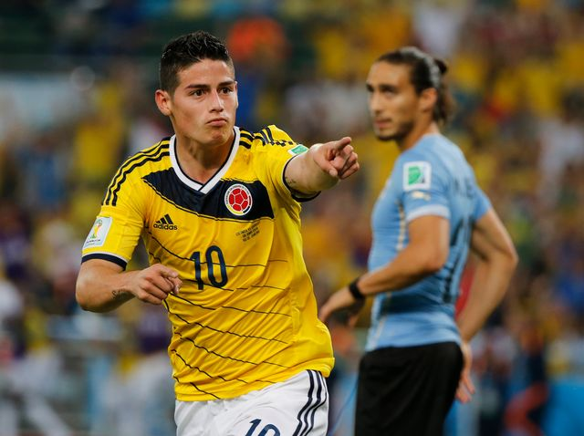 Avec ses 4e et 5e buts, James Rodriguez prend la tête du classement des buteurs. [Sergio Moraes - Reuters]